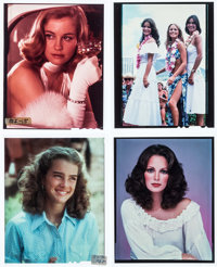 "Charlie's Angels & Others Lot (ABC Television, 1970). Color Transparencies (29) (2.25"" X 2.5"" - 9.75""..."