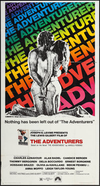 """The Adventurers & Other Lot (Paramount, 1970). Three Sheets (2) (41"""" X 77"""" & 41"""" X 79&quo..."""