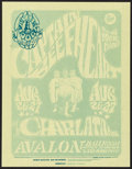 "Movie Posters:Rock and Roll, Captain Beefheart and His Magic Band at the Avalon Ballroom (FamilyDog, 1966). Handbill (8.5"" X 11"") 1st Printing Style B. ..."