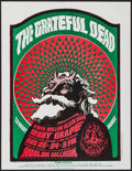"""Movie Posters:Rock and Roll, The Grateful Dead at The Avalon Ballroom (Family Dog, 1966).Handbill (8.5"""" X 11"""") Style A. Rock and Roll.. ..."""