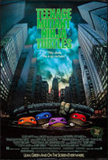 """Movie Posters:Action, Teenage Mutant Ninja Turtles & Other Lot (New Line, 1990). OneSheets (2) (26.75"""" X 39.5"""" & 27"""" X 41"""") SS Advance &Regular.... (Total: 2 Items)"""