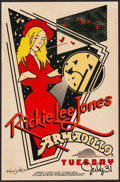 "Movie Posters:Rock and Roll, Rickie Lee Jones at the Armadillo World Headquarters (AWH, 1979).Concert Poster (11.5"" X 17.5""). Rock and Roll.. ..."