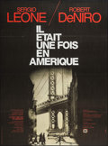 "Movie Posters:Crime, Once Upon a Time in America (SNC, 1984). French Grande (45.5"" X62""). Crime.. ..."