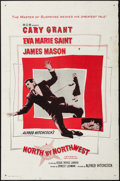"Movie Posters:Hitchcock, North by Northwest (MGM, 1959). International One Sheet (27"" X41""). Hitchcock.. ..."