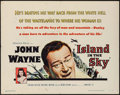 "Movie Posters:Adventure, Island in the Sky (Warner Brothers, 1953). Half Sheet (22"" X 28"")& Lobby Card (11"" X 14""). Adventure.. ... (Total: 2 Items)"