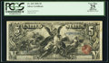 Large Size:Silver Certificates, Fr. 269 $5 1896 Silver Certificate PCGS Apparent Very Fine 25.. ...
