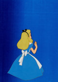 Animation Art:Production Cel, Alice in Wonderland Educational Production Cel andMemorabilia Group (Walt Disney and others, 1951-70s).... (Total: 5Items)