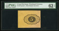 Fractional Currency:First Issue, Fr. 1231SP 5¢ First Issue Wide Margin Back PMG Uncirculated 62 EPQ.. ...