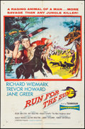 "Movie Posters:Adventure, Run for the Sun & Others Lot (United Artists, 1956). One Sheets(3) (27"" X 41"") & Three Sheet (41"" X 80""). Adventure.. ...(Total: 4 Items)"
