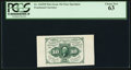 Fractional Currency:First Issue, Fr. 1243SP 10¢ First Issue Wide Margin Face PCGS Choice New 63.. ...