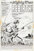 Original Comic Art:Splash Pages, John Buscema and Vince Colletta Thor #206 Splash Page 1Original Art (Marvel, 1972)....