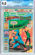 Modern Age (1980-Present):Superhero, DC Comics Presents #26 Superman and Green Lantern (DC, 1980) CGCVF/NM 9.0 White pages....