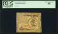 Colonial Notes:Continental Congress Issues, Continental Currency July 22, 1776 $3 PCGS Choice About New 55.....