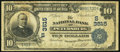 National Bank Notes:Virginia, Petersburg, VA - $10 1902 Date Back Fr. 617 The NB of PetersburgCh. # (S)3515. ...