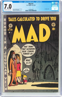 MAD #1 (EC, 1952) CGC FN/VF 7.0 Off-white to white pages
