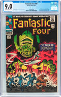 Silver Age (1956-1969):Superhero, Fantastic Four #49 (Marvel, 1966) CGC VF/NM 9.0 Off-white to white pages....