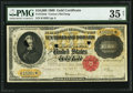 Large Size:Gold Certificates, Fr. 1225d $10,000 1900 Gold Certificate PMG Choice Very Fine 35Net.. ...