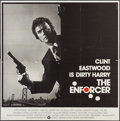 """Movie Posters:Crime, The Enforcer (Warner Brothers, 1977). Six Sheet (77"""" X 78""""). Crime.. ..."""