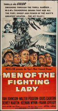 """Movie Posters:War, Men of the Fighting Lady (MGM, 1954). Three Sheet (41"""" X 79"""").War.. ..."""