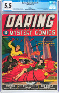 Golden Age (1938-1955):Superhero, Daring Mystery Comics #1 Larson Pedigree (Timely, 1940) CGC FN- 5.5 Off-white to white pages....