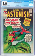 Silver Age (1956-1969):Superhero, Tales to Astonish #44 (Marvel, 1963) CGC VF 8.0 Off-white to white pages....