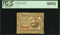 Colonial Notes:Continental Congress Issues, Continental Currency February 17, 1776 $2 PCGS Choice About New58PPQ.. ...