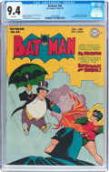 Golden Age (1938-1955):Superhero, Batman #38 (DC, 1946) CGC NM 9.4 White pages....