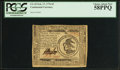 Colonial Notes:Continental Congress Issues, Continental Currency February 17, 1776 $3 PCGS Choice About New58PPQ.. ...