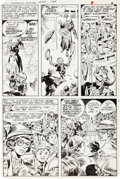 Original Comic Art:Panel Pages, Dick Ayers and Gerry Talaoc The Unknown Soldier #267 Story Page 2 Original Art (DC, 1982)....