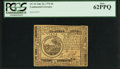 Colonial Notes:Continental Congress Issues, Continental Currency July 22, 1776 $6 PCGS New 62PPQ.. ...
