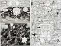 Original Comic Art:Panel Pages, Ron Lim and Tom Christopher Silver Surfer #45 Page 10 andSplash Page 11 Thanos Original Art (Marvel, 1991).... (Total: 2Original Art)