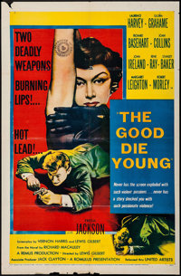 """The Good Die Young (United Artists, 1955). One Sheet (27"""" X 41""""). Crime"""