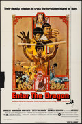 """Movie Posters:Action, Enter the Dragon (Warner Brothers, 1973). One Sheet (27"""" X 41""""). Action.. ..."""