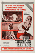 "Movie Posters:Horror, Two Thousand Maniacs (Box Office Spectaculars, 1964). One Sheet (27"" X 41""). Horror.. ..."