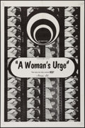 """Movie Posters:Adult, A Woman's Urge & Others Lot (Caprice, 1969). One Sheets (5) (27"""" X 41""""). Adult.. ... (Total: 5 Items)"""