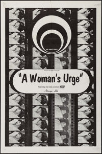 """A Woman's Urge & Others Lot (Caprice, 1969). One Sheets (5) (27"""" X 41""""). Adult. ... (Total: 5 Items)"""