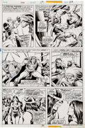 Original Comic Art:Panel Pages, John Buscema and Steve Gan Conan the Barbarian #58 Page 23Original Art (Marvel, 1976)....
