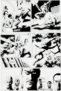 Original Comic Art:Panel Pages, Paul Gulacy and Gary Martin Marvel Comics Presents #75 Page10 Original Art (Marvel, 1991)....