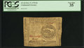Colonial Notes:Continental Congress Issues, Continental Currency February 17, 1776 $4 PCGS Very Fine 35.. ...