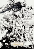 Original Comic Art:Splash Pages, Pablo Marcos The Savage Sword of Conan #228 Splash Page 5Original Art (Marvel, 1994). ...