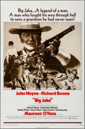 "Movie Posters:Western, Big Jake (National General, 1971). One Sheet (27"" X 41"") Style B. Western.. ..."