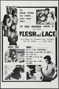 """Movie Posters:Exploitation, Flesh and Lace (Rossmore, 1965). One Sheet (25"""" X 38"""").Exploitation.. ..."""