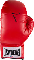 Boxing Collectibles:Autographs, 2011 Muhammad Ali Signed Boxing Glove, PSA/DNA Gem Mint 10. ...