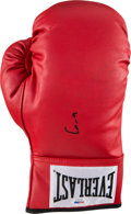 Boxing Collectibles:Autographs, 1990's Cassius Clay (Muhammad Ali) Signed Boxing Glove....