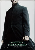 "Movie Posters:Science Fiction, The Matrix Reloaded (Warner Brothers, 2003). Hologram One Sheet& One Sheets (7) (27"" X 40"") DS Advance & 7 Styles. Science... (Total: 8 Items)"