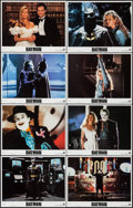 """Movie Posters:Action, Batman (Warner Brothers, 1989). Lobby Card Set of 8 (11"""" X 14""""). Action.. ... (Total: 8 Items)"""