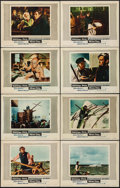 "Movie Posters:Adventure, Moby Dick (Warner Brothers, 1956). Lobby Card Set of 8 (11"" X 14"").Adventure.. ... (Total: 8 Items)"
