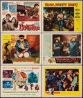 """Movie Posters:Exploitation, The Beat Generation & Others Lot (MGM, 1959). Title Lobby Card & Lobby Cards (5) (11"""" X 14""""). Exploitation.. ... (Total: 6 Items)"""