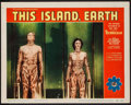 """Movie Posters:Science Fiction, This Island Earth (Universal International, 1955). Lobby Card (11""""X 14""""). Science Fiction.. ..."""