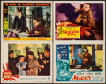 """Movie Posters:War, Tokyo Rose & Others Lot (Paramount, 1945). Lobby Cards (4) (11""""X 14""""). War.. ... (Total: 4 Items)"""